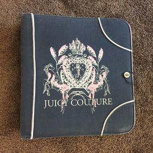Juicy Couture Binder